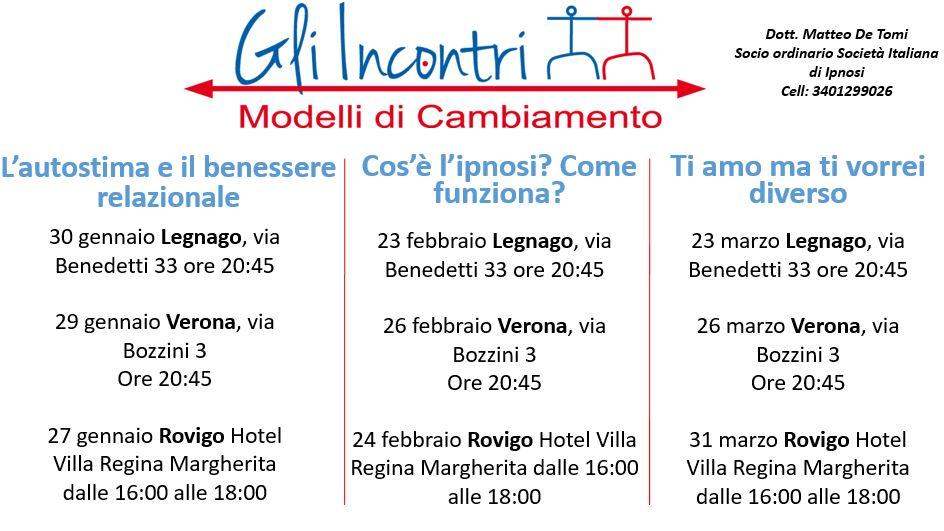 incontri gratuiti a Verona